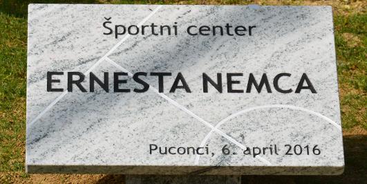 Slavnostna otvoritev ŠPORTNEGA CENTA Erneste Nemca
